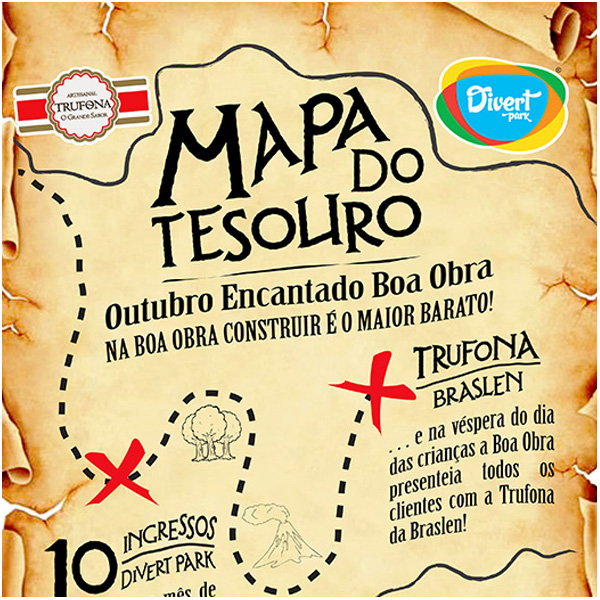 Boa Obra Campanha Mapa do Tesouro
